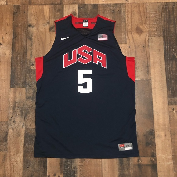 the best attitude d9b59 02466 Nike Team USA Kevin Durant 2016 Rio Olympic Jersey